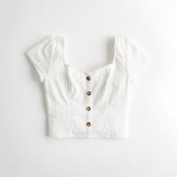 Hollister Button-Front Cami Top   